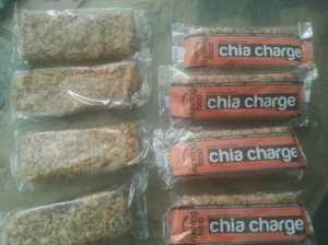 Chia charge flapjacks